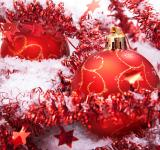 Free Photo - Red christmas balls