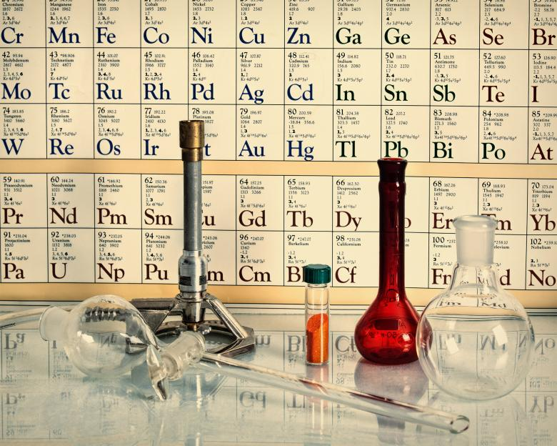 Free Stock Photo of Retro style chemical science  Created by Geoffrey Whiteway