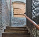 Free Photo - Lonaconing Silk Mill Staircase - HDR
