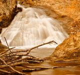 Free Photo - Glowing Gold Falls - HDR