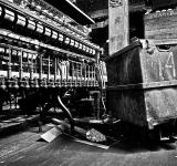 Free Photo - Abandoned Silk Mill - Black & White HDR
