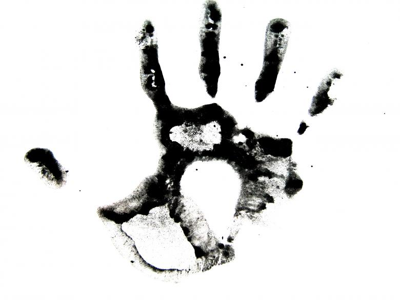 Free Stock Photo of Black ink hand Created by 2happy