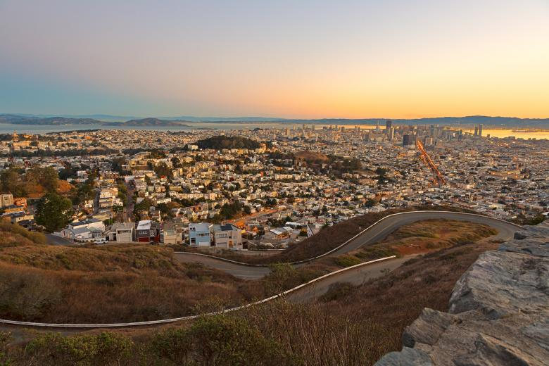 Free Stock Photo of San Francisco Sunrise - HDR Created by Nicolas Raymond