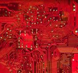 Free Photo - Close up of the RED circuit board