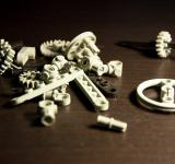 Free Photo - Lego Technic Pieces Pile Close Up