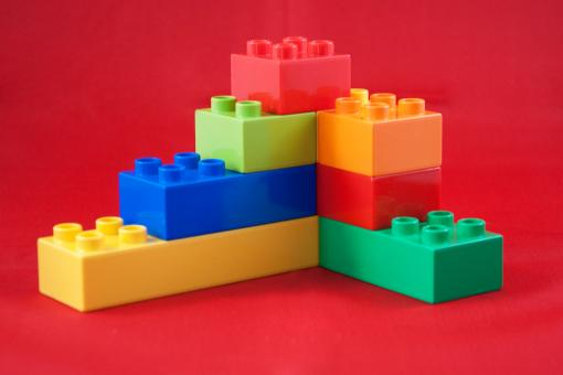 Duplo lego toy blocks - Free Stock Photo