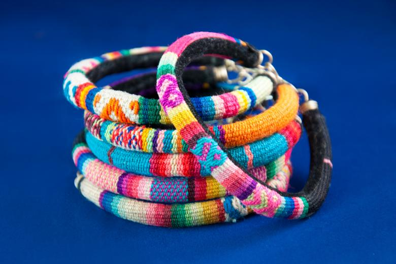 Free Stock Photo of Colorful fashion bracelets jewelry Created by Merelize