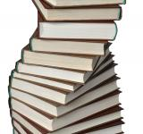 Free Photo - Spiral of books