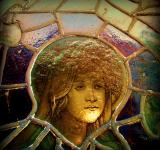 Free Photo - Girl In The Stained Glass Window