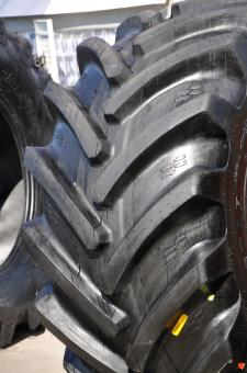 Fragment of tractor tyre - Free Stock Photo