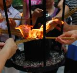 Free Photo - Lighting up Incense at Temple