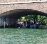 Free Photo - Boats moored under bridge