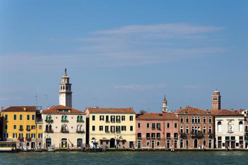 Houses in the city of Venice - Free Stock Photo
