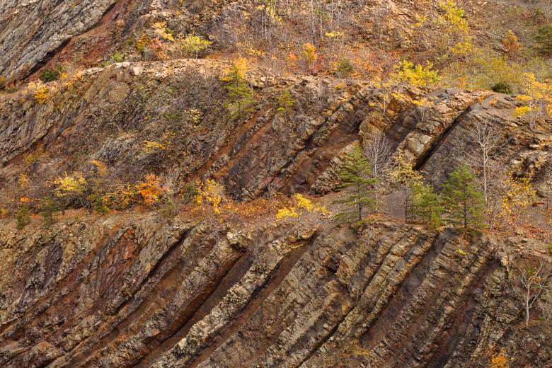 Free Stock Photo of Sideling Hill Close-up - HDR Texture Created by Nicolas Raymond
