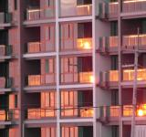 Free Photo - Apartment Block at Sunset