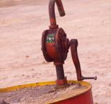 Free Photo - Oil Drum with Pump