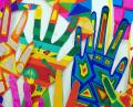 Free Photo - Hands Abstract Art