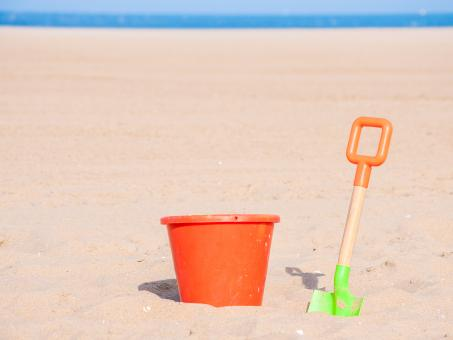 Children beach toys - Free Stock Photo