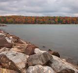 Free Photo - Cloudy Deep Creek Autumn - HDR