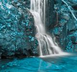 Free Photo - Aquamarine Falls