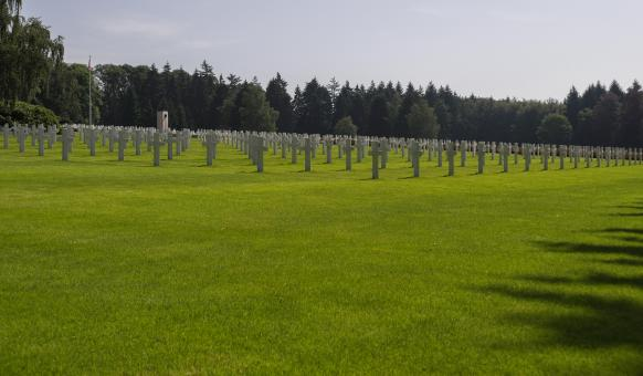 American Memorial and Cemetery WW II - Free Stock Photo