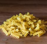 Free Photo - Fusilli pasta on a old wooden background
