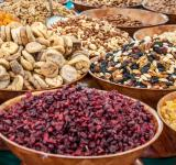 Free Photo - Dry fruits and nuts at market