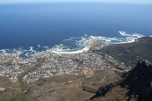 View from table mountain - Free Stock Photo