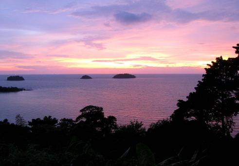 Sunset on Koh Chang - Free Stock Photo