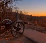 Free Photo - Gettysburg Sunset Cannon - HDR
