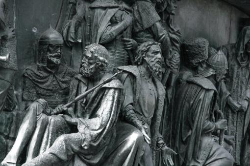 bronze monument close-up - Free Stock Photo