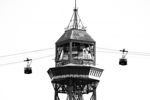 Cableway in Barcelona - Free Stock Photo