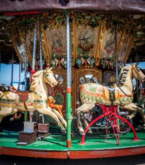 Old carousel - Free Stock Photo