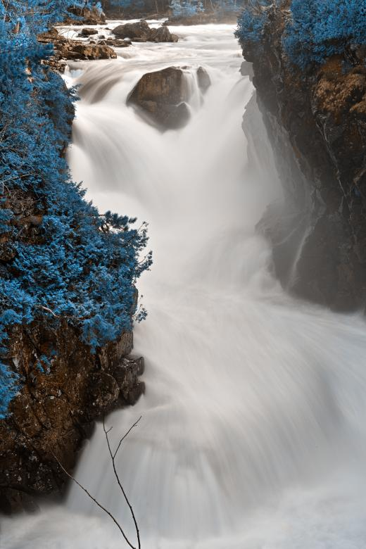 Free Stock Photo of Blue Dorwin Falls - HDR Created by Nicolas Raymond