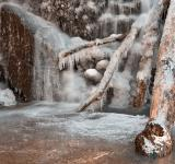 Free Photo - Frozen Avalon Falls - HDR