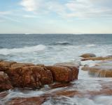Free Photo - Seascape with Icebergs