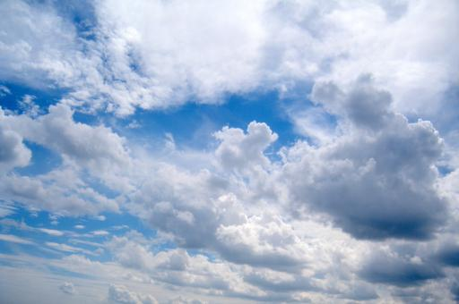 Sky With Clouds - Free Stock Photo