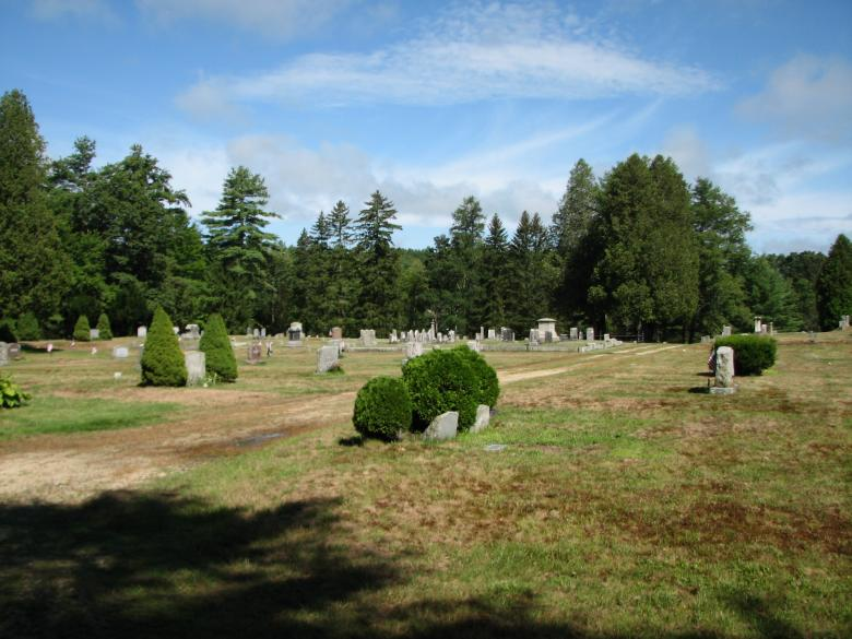 Free Stock Photo of Cemetery from a distance Created by Katharine Sparrow