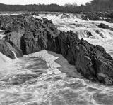 Free Photo - Great Falls Leviathan - Black and White