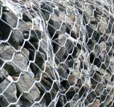 Free Photo - Stone In Chain Link Fence Texture