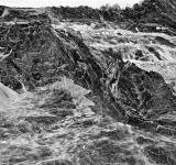 Free Photo - Great Falls Leviathan - Black & White