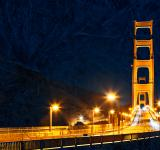Free Photo - Golden Glacier Bridge