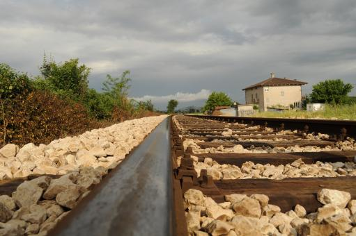 Railway Track - Free Stock Photo