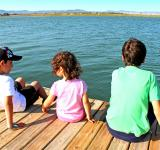 Free Photo - Kids socializing on the pier