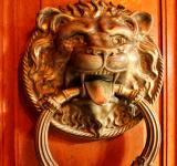 Free Photo - Ornate ancient door knocker