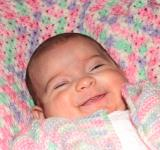 Free Photo - Portrait of a happy baby smiling