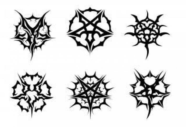 Free Stock Photo of Pentagram Set Created by ModBlackmoon