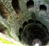 Free Photo - Masonry - Giant Spiraling Well and Stair