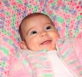 Free Photo - Happy baby lying on a blanket