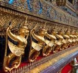 Free Photo - Golden Garuda at Wat Phra Kaew